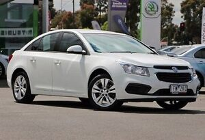 2015 Holden Cruze JH Series II MY15 Equipe White 6 Speed Sports Automatic Sedan Nunawading Whitehorse Area Preview