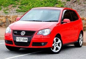 2006 Volkswagen Polo 9N MY2006 GTi Red 5 Speed Manual Hatchback Christies Beach Morphett Vale Area Preview