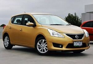 2016 Nissan Pulsar C12 Series 2 ST-L Gold 6 Speed Manual Hatchback Nunawading Whitehorse Area Preview