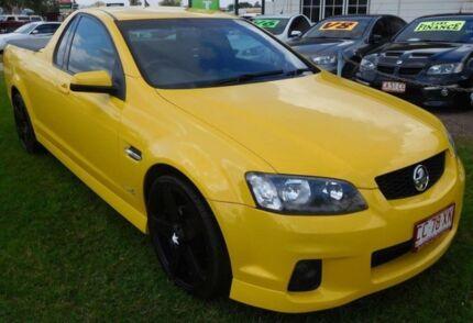2011 Holden Ute VE II SV6 Thunder Yellow 6 Speed Manual Utility