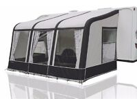 Bradcot Aspire 390 Inflatable Porch Awning, black/grey colour.