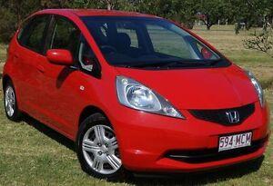 2010 Honda Jazz GE MY11 VTi Red 5 Speed Manual Hatchback Bundaberg West Bundaberg City Preview
