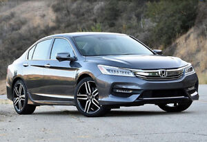 2017 Honda Accord Touring V6 Sedan Lease takeover$NEW INCENTIVE