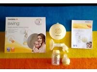 Medela swing breast pump - Purchsed in April & in excelent condition