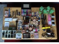 Professional Make-Up Artist and Hairstyling kit 120pc