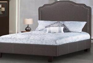 GORGEOUS UPHOLSTRY HEADBOARD OR PLATFORM BED