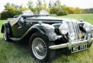 1953 MG TF (original) 1250cc