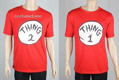 DR SEUSS CAT IN THE HAT THING 1 2 Red t-shirt Shirt Costume Cotton Men Women - Cat In The Hat Costume Women