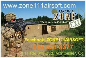 Call of duty! Terrain d'airsoft CQB (paintball) ZONE 111 AIRSOFT ***JEUX D'AVENTURES...