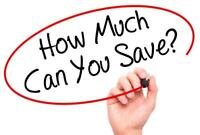 Want to save 350-2400$ on your home service bills?