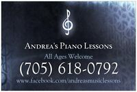 Piano Lessons New Sudbury
