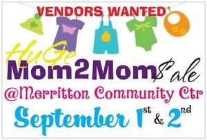 VENDORS WANTED: Huge Famil/Parenting Expo & Mom 2 Mom Sale
