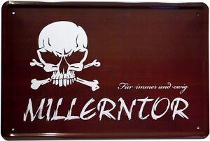Millerntor St.Pauli Fußball Hamburg Metallschild 20x30 cm Blechschild 772