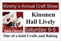 Kimmy's Annual Craft Show