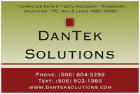 DanTek Solutions: Total Care Computer Repair...w/ 1 yr warranty!