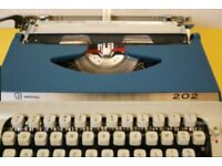 Rent a stylish, mint condition Imperial 202 typewriter (London)