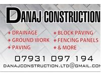 Drainage and groundwork's ,landscaping ,fencing ,decking,shuttering,and more