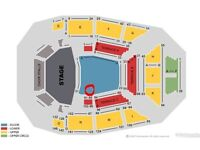 2x Dream Theater tickets Glasgow 20th April row E arena!