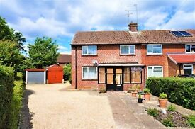 Two double bedroom semi-detached house with huge potential to extend (STPP)