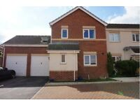 Berry Hill, Mansfield. Modern 4 Bed Semi with Garage. Working Person Only. Sorry No Pets