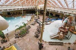 Giant indoor and outdoor WaterPark
