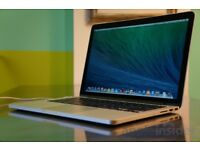 Apple Macbook pro, 13 inch, i7, 500gb SSD, 8gb RAM, Late 2014