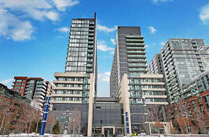 STUNNING Balcony View!– NEW Queen West 2 Bdrm / 2 Bath For Lease