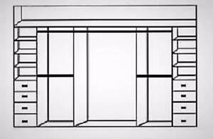 Wardrobes Sliding 3 door mirrors with internals installed
