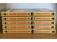 Case Closed by Gosho Aoyama manga / comic / graphic Novel