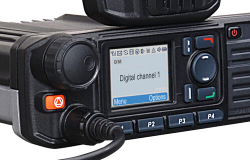 Hytera MD785G VHF Analogue & DMR Digital Mobile Transceiver with GPS