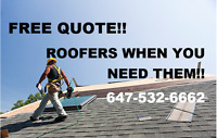 Top quality Roof Repairs. Available 7 Days a week!! Free Quote!!