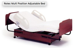 Adjustable bed - double - near new - $1000