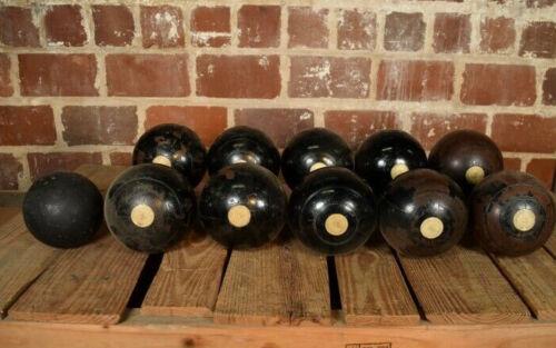 Vintage Jaques & Son Set of Bocce Balls London Lawn Bowling