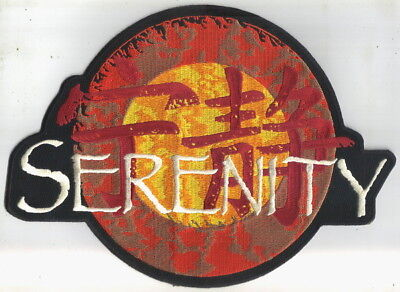 Firefly / Serenity Movie Ship Logo Jacket Die-Cut Embroidered Patch, NEW UNUSED