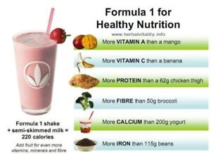 Formula 1 Healthy Meal Nutritional Shake Mix Herbalife Canada