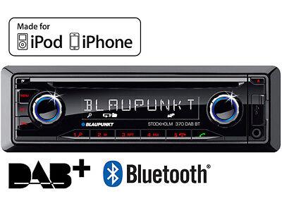 Blaupunkt Stockholm 370 DAB BT Digital car radio stereo Bluetooth CD MP3 iPhone