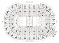 """Vancouver Canucks. """"Nice"""" Centre Ice. 3 Tickets. Various Games."""