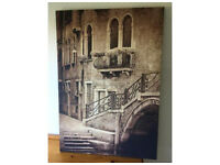 Large Canvas Wall Print - Venice