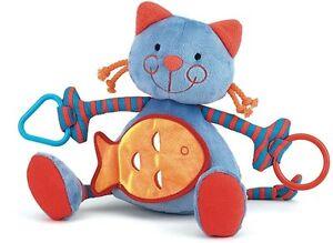 Jellycat-Kitten-Cat-Kitty-Activity-Toy-Blue-Orange-Red-Tringle-Trangle-NEW