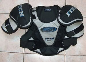Selection of 5 Pair of Ice Hockey Shoulder Pads London Ontario image 7