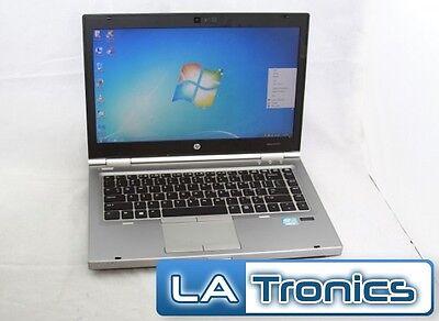 "HP EliteBook 8460p 14"" Intel Core i5-2410m 4GB RAM 320HDD Window 7 Pro Laptop"