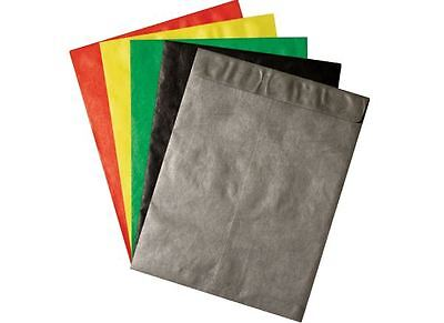 10 X 13 Colored Tyvek Envelopes 100lot Assorted Colors
