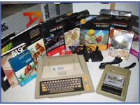 ATARI 400 / 800 / XE - I am looking for games, a console, and any accessories.
