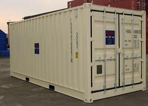 20' FOOT STORAGE CONTAINERS FOR RENT