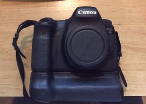 Canon 6D camera with a 40mm 2.8 lens