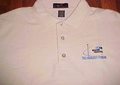 Baker Hughes Technology Forum Associates Employees Ash City Almond Polo Shirt Xl