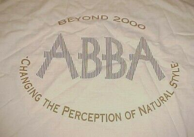 ABBA Beyond 2000 Changing The Perception Of Natural Style Adult White T-shirt XL