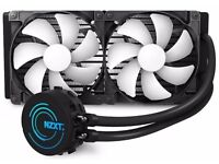 Kraken x61 AMD am3+ socket water cooler for sale, CPU and MB is also available on other ads