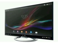 """Sony 55"""" LED smart Android tv 3D wi-fi built"""