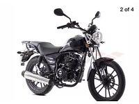 Motorbike 125 full serviced MOT+tax